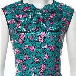 Marc Jacobs sequin midi dress